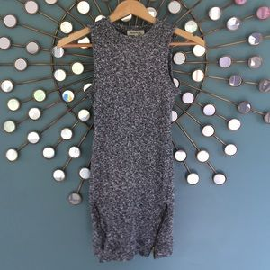 Monteau sleeveless long tank or mini dress